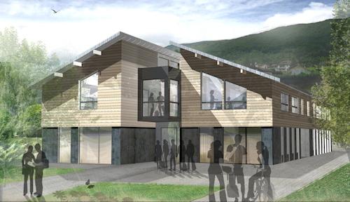 Bâtiment scolaire : lycée SEVRIER